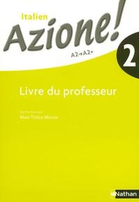 Marie-Thérèse Medjadji - Azione ! 2 - Livre du Professeur.