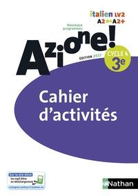 Marie-Thérèse Medjadji et Jean-Luc Bouko - Italien 3e Cycle 4 Azione ! - Cahier d'activités.