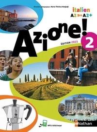 Marie-Thérèse Medjadji et Jean-Luc Bouko - Italien A2-A2+ Azione! 2.