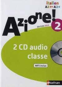 Marie-Thérèse Medjadji et Jean-Luc Bouko - Italien Azione! 2 A2-A2+. 2 CD audio MP3