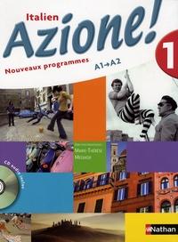 Marie-Thérèse Medjadji - Italien Azione ! A1 A2. 1 CD audio