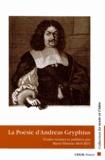 Marie-Thérèse Mourey - La Poésie d'Andreas Gryphius (1616-1664).