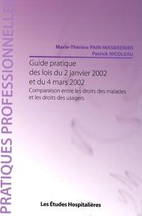 Guide pratique des lois du 2 janvier 2002 et du 4 mars 2002 - Comparaison entre les droits des malades et les droits des usagers.pdf