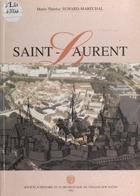 Marie-Thérèse Suhard-Maréchal et Dominique Perben - Saint-Laurent.