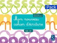 Marie-Thérèse Zerbato-Poudou - pack de 6 - Mon nouveau cahier d'écriture GS-CP - De la forme des lettres au rythme des tracés.