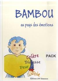 Marie Vaillant et Jean-François Rousseau - Bambou au pays des émotions - Avec une pochette contenant 3 planches A4 et 5 A3.