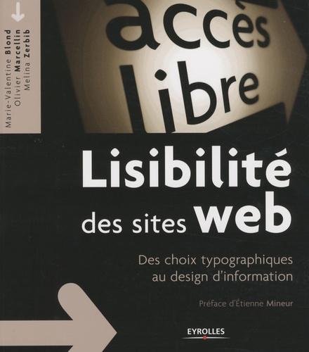Lisibilité des sites web. Des choix typographiques au design d'information