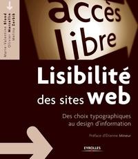 Marie-Valentine Blond et Olivier Marcellin - Lisibilité des sites web - Des choix typographiques au design d'information.