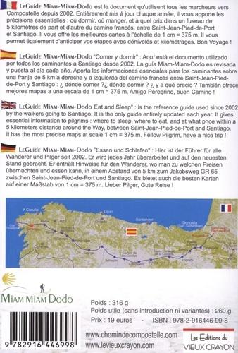 Camino francés de Saint-Jean-Pied-de-Port à Santiago + le chemin vers Finisterre  Edition 2020