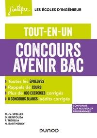 Marie-Virginie Speller et Michaël Sauzeix - Concours Avenir Bac  - Tout-en-un.