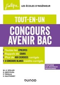 Marie-Virginie Speller et David Bentouza - Concours Avenir Bac - Tout-en-un.
