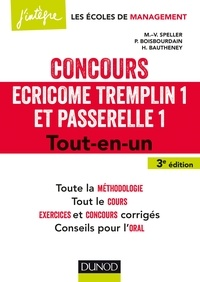 Galabria.be Concours Ecricome Tremplin 1 et Passerelle 1 - Tout-en-un Image