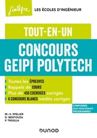 Marie-Virginie Speller et David Bentouza - Concours Geipi Polytech - Tout-en-un.