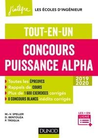 Concours Puissance Alpha - Marie-Virginie Speller, David Bentouza, Patrick Troglia - Format PDF - 9782100790845 - 17,99 €