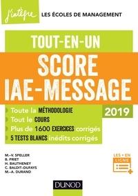 Marie-Virginie Speller et Benoît Priet - Score IAE-Message - 2019.