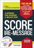 Marie-Virginie Speller et Benoît Priet - Score IAE-Message - Tout-en-un.