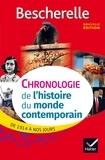 Marielle Chevallier et Axelle Guillausseau - Bescherelle Chronologie de l'histoire du monde contemporain (édition 2017) - de 1914 à nos jours.