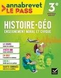 Marielle Chevallier et Christophe Clavel - Histoire-géo, Enseignement moral et civique 3e.
