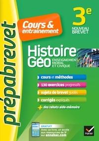 Marielle Chevallier et Christophe Clavel - Histoire Géo, Enseignement moral et civique EMC 3e.