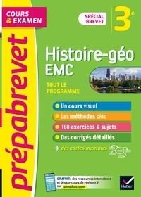 Marielle Chevallier et Christophe Clavel - Histoire-Géographie Enseignement moral et civique 3e Spécial Brevet - Tout le programme.