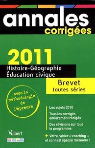 Histoire-géographie-éducation civique Brevet toutes séries - Marielle Fonseca |