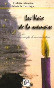 Marielle Larriaga et Violette Maurice - .