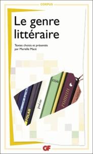 Marielle Macé - Le genre littéraire.