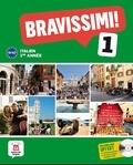 Marilisa Birello et Albert Vilagrasa Grandia - Italien 1e année Bravissimi ! 1 A1-A2. 1 CD audio