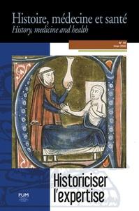 Marilyn Nicoud - Historiciser l'expertise - L'autorité de l'expert en médecine dans les sociétés antiques et médiévales.