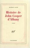 Marilyn Sachs - Histoire de John Cooper d'Albany.