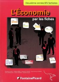 Marilyne Audran et Philippe Berry - L'économie par les fiches BTS Tertiaire 2e année.