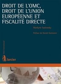 Deedr.fr Droit de l'OMC, droit de l'Union européenne et fiscalité directe Image