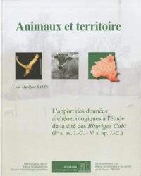 Marilyne Salin - Animaux et territoire - L'apport des données archéozoologiques à l'étude de la cité des Bituriges Cubi (Ier s. av. J.-C. - Ve s. ap. J.-C.). 1 Cédérom