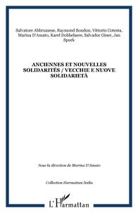 Marina D'Amato - Anciennes et nouvelles solidarités - Vecchie e nuove solidarietà.