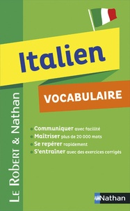Marina Ferdeghini et Paola Niggi - Le Robert & Nathan italien vocabulaire.