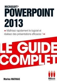 Microsoft Powerpoint 2013 - Marina Mathias pdf epub