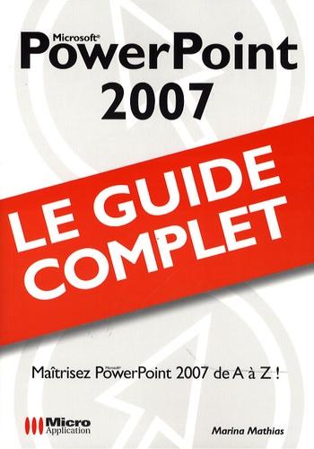 Marina Mathias - PowerPoint 2007.