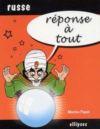 Marina Papot - Réponse à tout Russe.