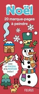 Marine Cazaux - Noël - 20 marque-pages à peindre avec un pinceau et de la peinture inclus !.