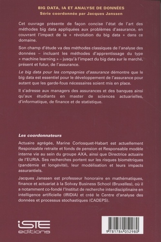 Big Data, IA et analyse de données. Volume 1, Le big data pour les compagnies d'assurance