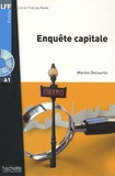 Marine Decourtis - Enquête capitale. 1 CD audio