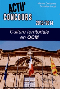 Marine Derkenne et Donatien Lecat - Culture territoriale en QCM.