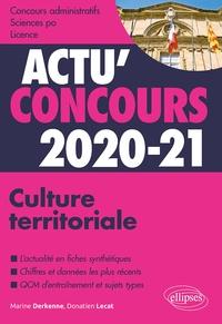 Marine Derkenne et Donatien Lecat - Culture territoriale - Cours et QCM.