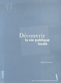 Marine Derkenne - Découvrir la vie publique locale.