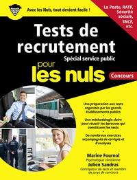 Marine Fournol et Julien Sandras - Tests de recrutement - Spécial service public.