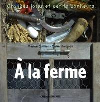 Marine Guillier et Claire Lhermey - A la ferme.