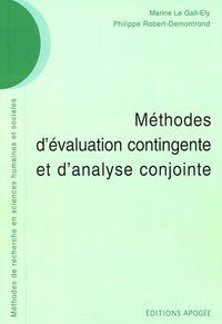 Marine Legall-Ely et Philippe Robert-Demontrond - Méthodes d'évaluation contingente et d'analyse conjointe.