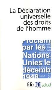 Ucareoutplacement.be La Déclaration universelle des droits de l'homme Image