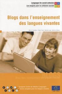 Mario Camilleri et Peter Ford - Blogs dans l'enseignement des langues vivantes. 1 Cédérom