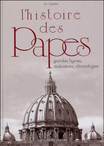 Mario Centini - L'histoire des papes.